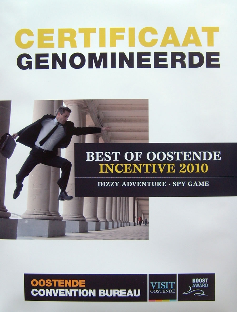 Best of Oostende Incentive 2010 - Dizzy adventure